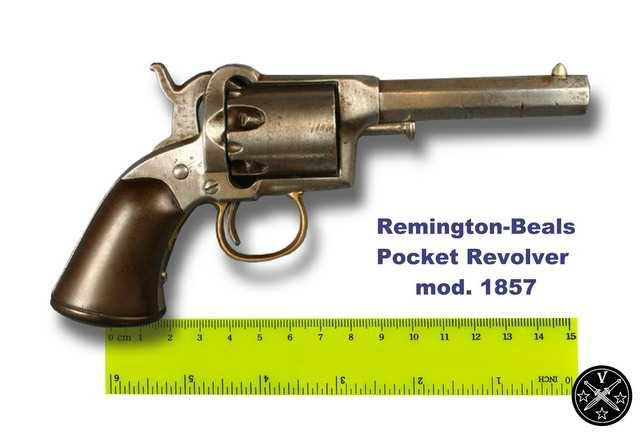 7)Третий пневмат из истории Дикого Запада – Remington 1875