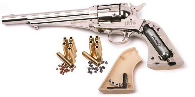 20)Третий пневмат из истории Дикого Запада – Remington 1875