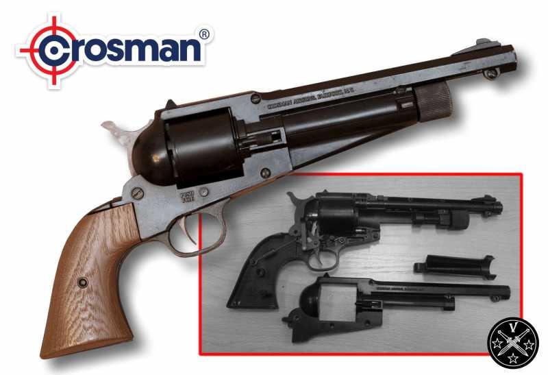 18)Третий пневмат из истории Дикого Запада – Remington 1875