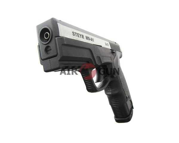 10)Пневматический пистолет ASG Steyr M9-A1