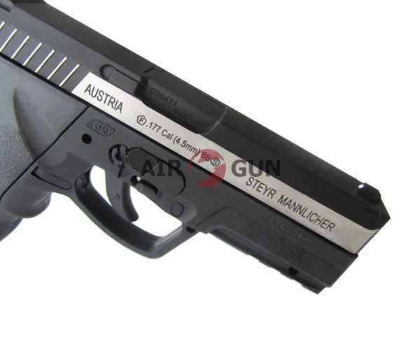 5)Пневматический пистолет ASG Steyr M9-A1