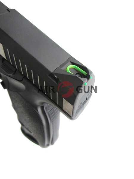 7)Пневматический пистолет ASG Steyr M9-A1
