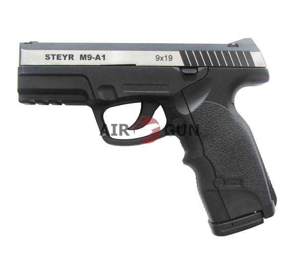 6)Пневматический пистолет ASG Steyr M9-A1