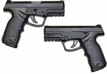 1)Пневматический пистолет ASG Steyr M9-A1