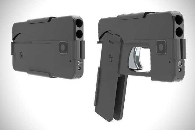 2)Стреляющий смартфон (по следам комментариев пользователей)