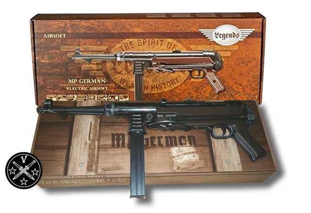 1)Пневматический пистолет-пулемет UMAREX MP-40, часть 1