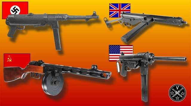 2)Пневматический пистолет-пулемет UMAREX MP-40, часть 1