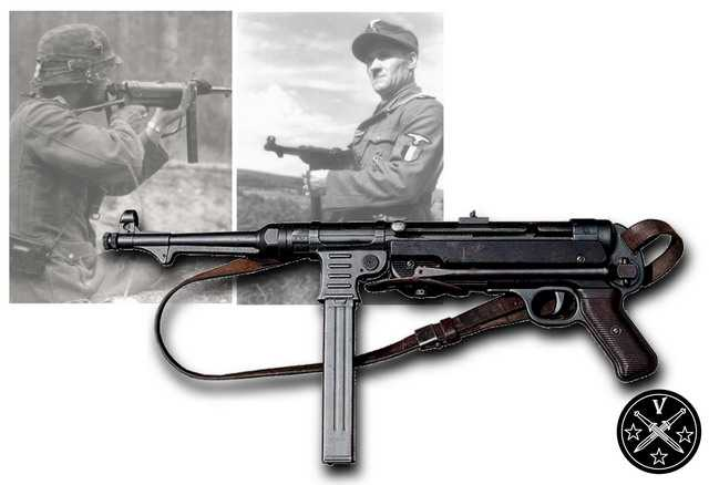 3)Пневматический пистолет-пулемет UMAREX MP-40, часть 1