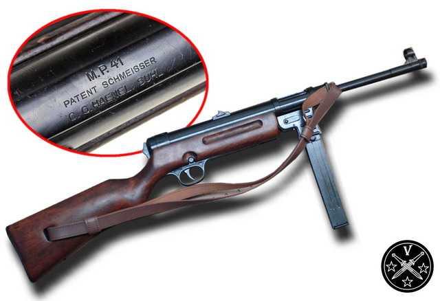 17)Пневматический пистолет-пулемет UMAREX MP-40, часть 1