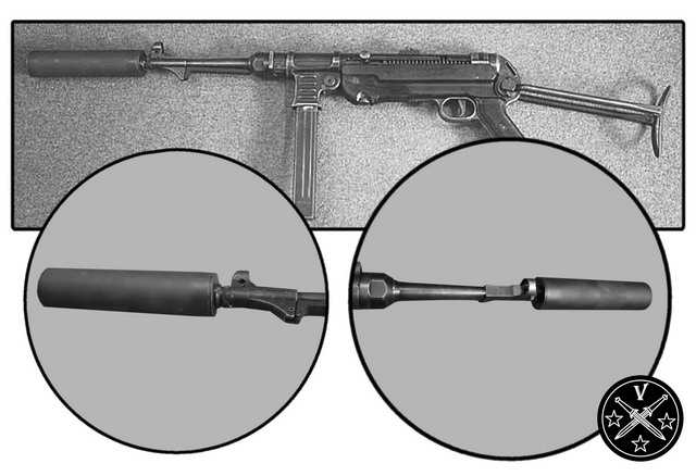 19)Пневматический пистолет-пулемет UMAREX MP-40, часть 1