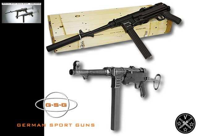 22)Пневматический пистолет-пулемет UMAREX MP-40, часть 1
