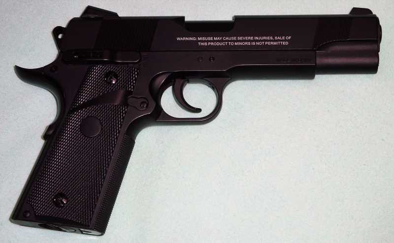 2)Пистолет STALKER S1911RD