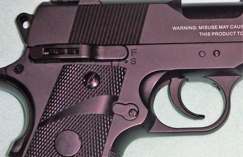 4)Пистолет STALKER S1911RD