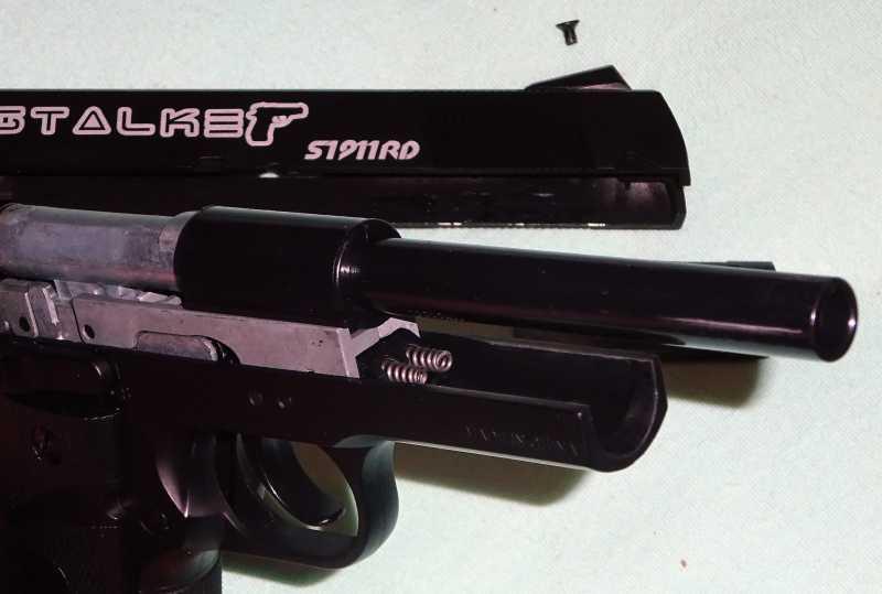 9)Пистолет STALKER S1911RD