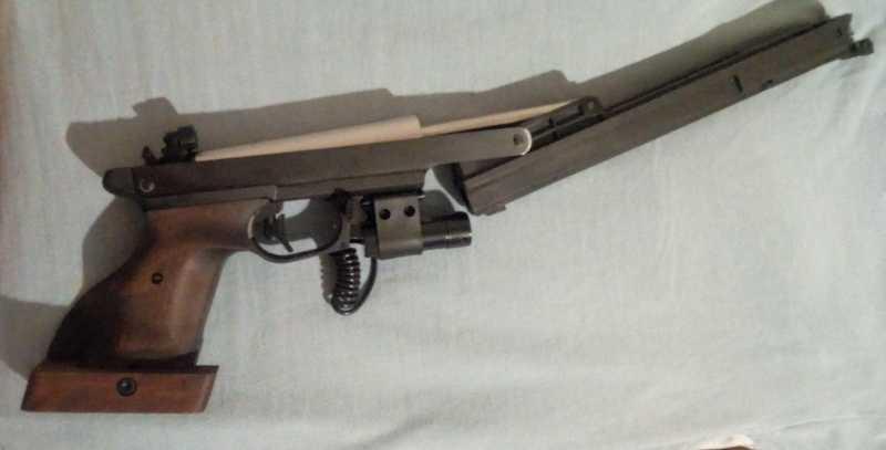 4)Gamo Compact - компрессионный пистолет