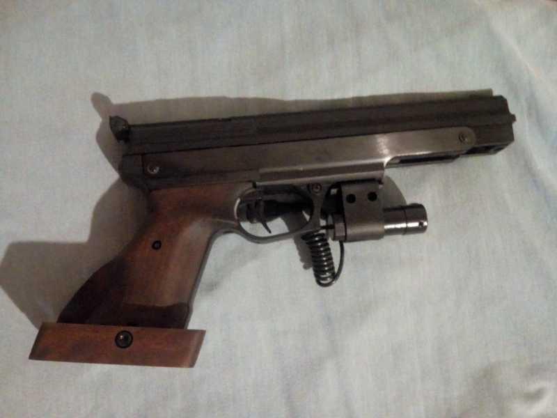 1)Gamo Compact - компрессионный пистолет