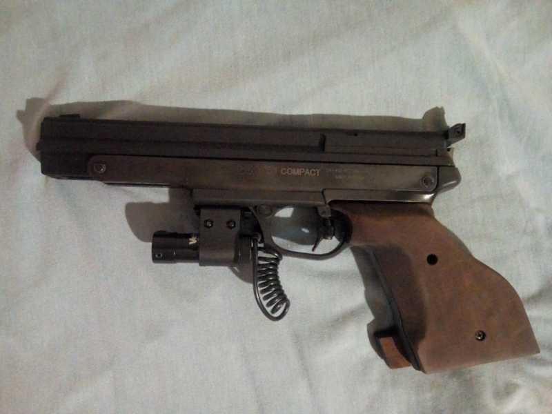 2)Gamo Compact - компрессионный пистолет