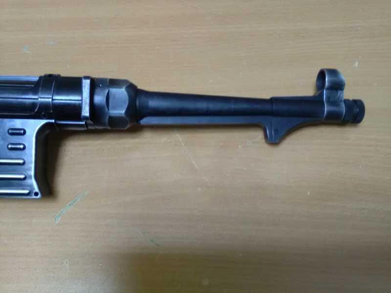 19)Немецкое чудо пневмо версия МР-40.