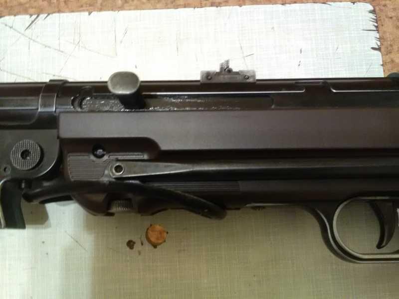 43)Немецкое чудо пневмо версия МР-40.