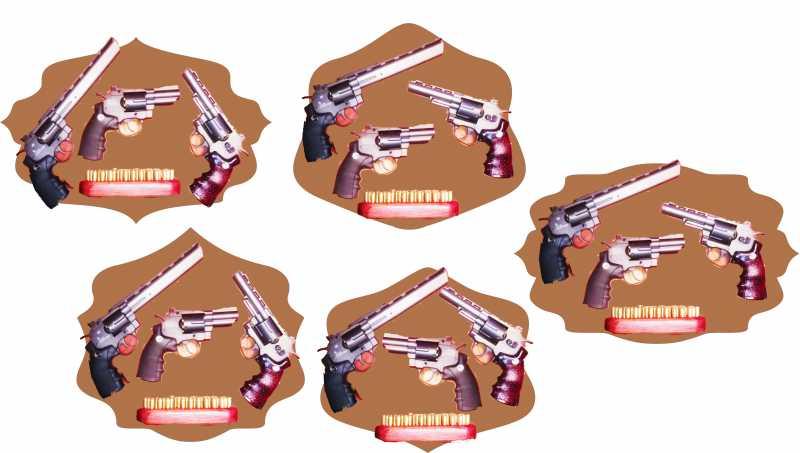 2)«Щит» для револьверов.
