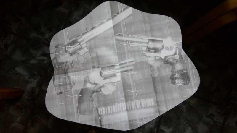 3)«Щит» для револьверов.