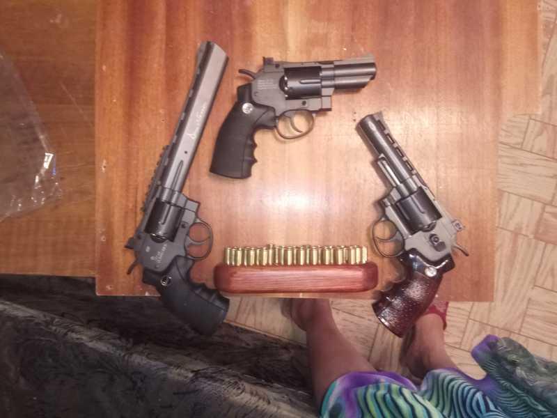 4)«Щит» для револьверов.