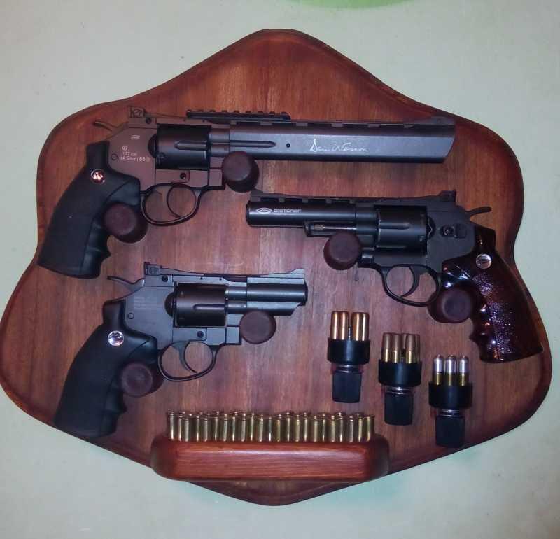 10)«Щит» для револьверов.