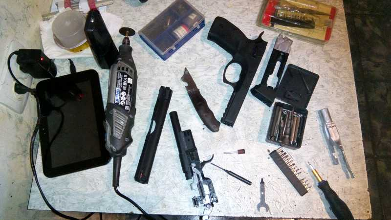 7)Апгрейд пневматического пистолета ASG CZ SP-01 shadow 4,5 мм (Продолжение статьи Обзор декабрьского приза.)