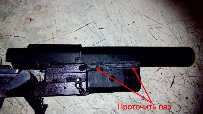 10)Апгрейд пневматического пистолета ASG CZ SP-01 shadow 4,5 мм (Продолжение статьи Обзор декабрьского приза.)