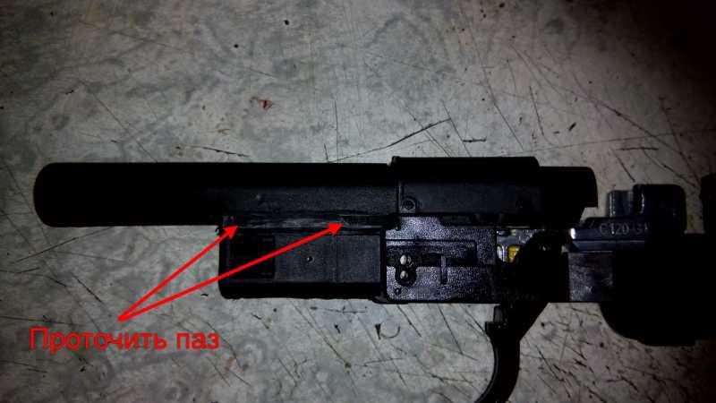 11)Апгрейд пневматического пистолета ASG CZ SP-01 shadow 4,5 мм (Продолжение статьи Обзор декабрьского приза.)