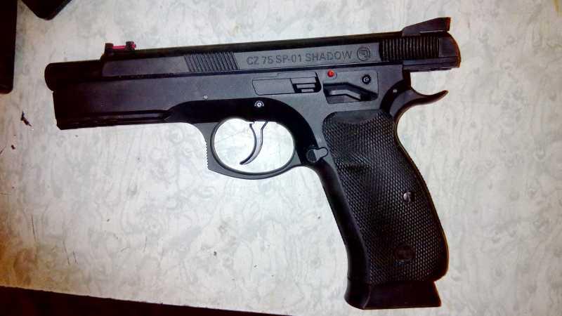 12)Апгрейд пневматического пистолета ASG CZ SP-01 shadow 4,5 мм (Продолжение статьи Обзор декабрьского приза.)