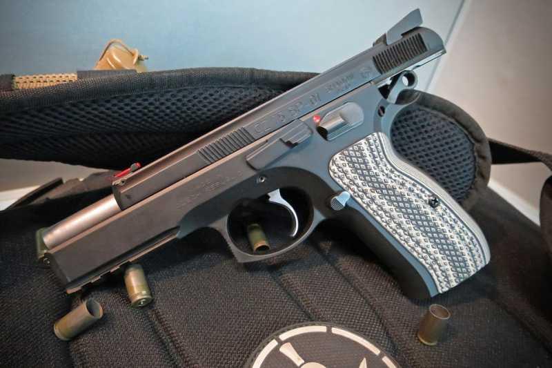 13)Апгрейд пневматического пистолета ASG CZ SP-01 shadow 4,5 мм (Продолжение статьи Обзор декабрьского приза.)