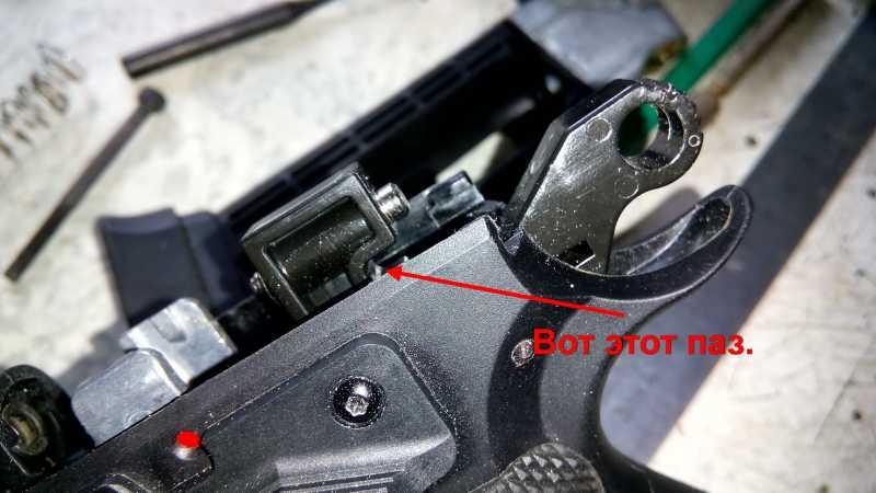 16)Апгрейд пневматического пистолета ASG CZ SP-01 shadow 4,5 мм (Продолжение статьи Обзор декабрьского приза.)
