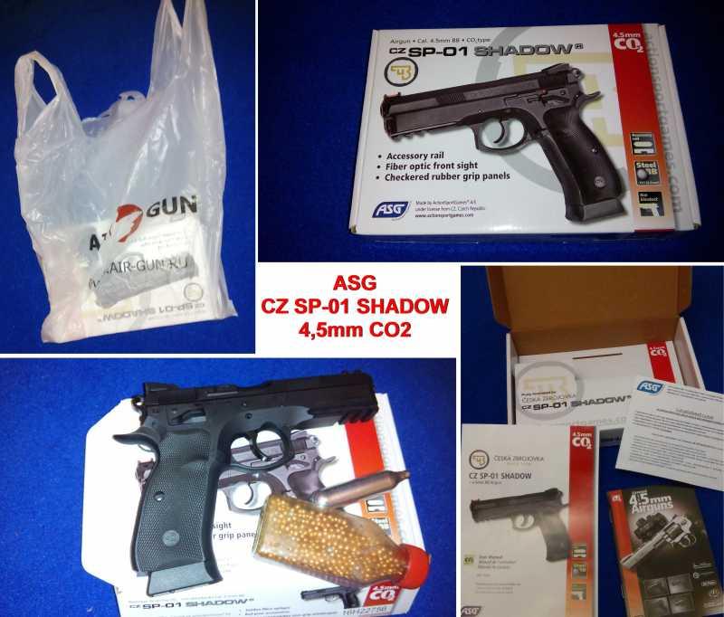 1)Апгрейд пневматического пистолета ASG CZ SP-01 shadow 4,5 мм (Продолжение статьи Обзор декабрьского приза.)