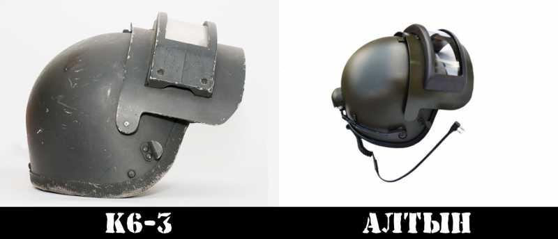 1)Обзор и применение реплики шлема К6-3