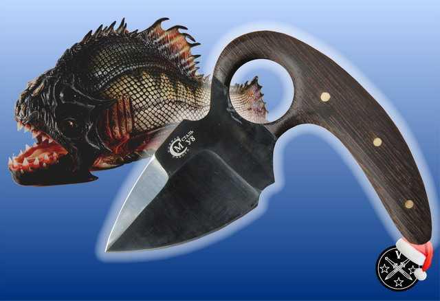 1)Новая «Пиранья» на российском ножевом рынке