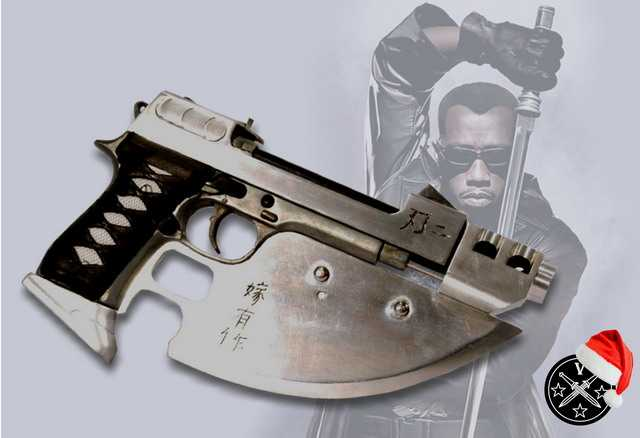 1)Пистолетные штык-ножи