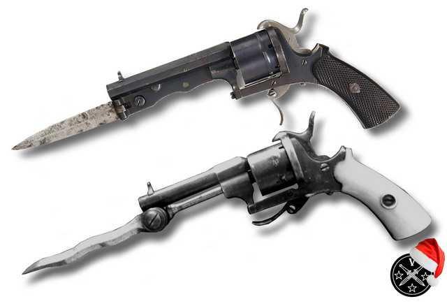 4)Пистолетные штык-ножи