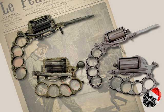 5)Пистолетные штык-ножи