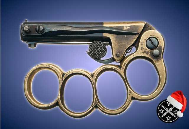 6)Пистолетные штык-ножи