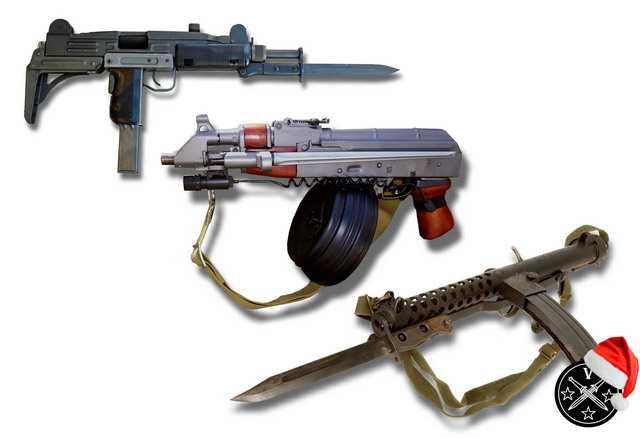 15)Пистолетные штык-ножи
