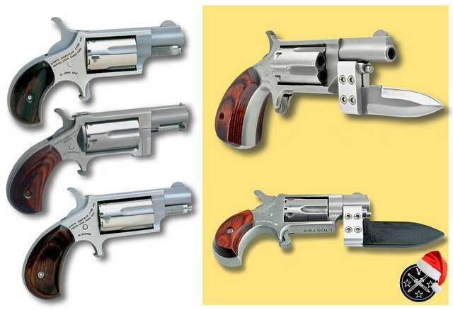 10)Пистолетные штык-ножи