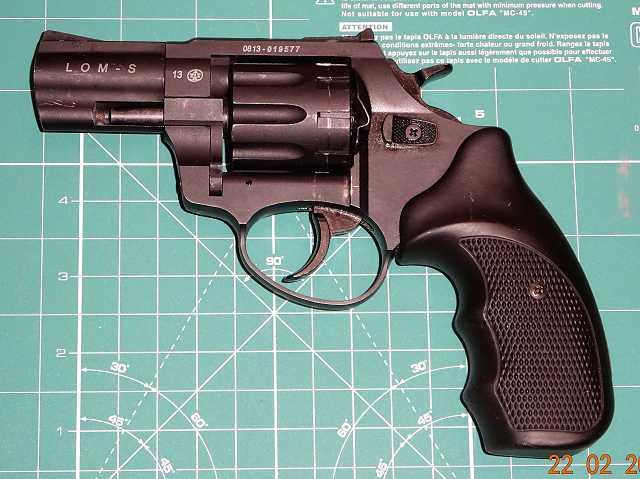 2)Сигнальный револьвер ZORAKI  LOM-S  5,6x16