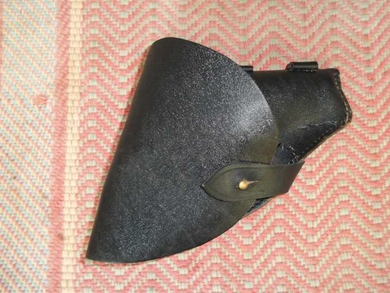 10)Самостоятельное изготовление кобуры из кожи.