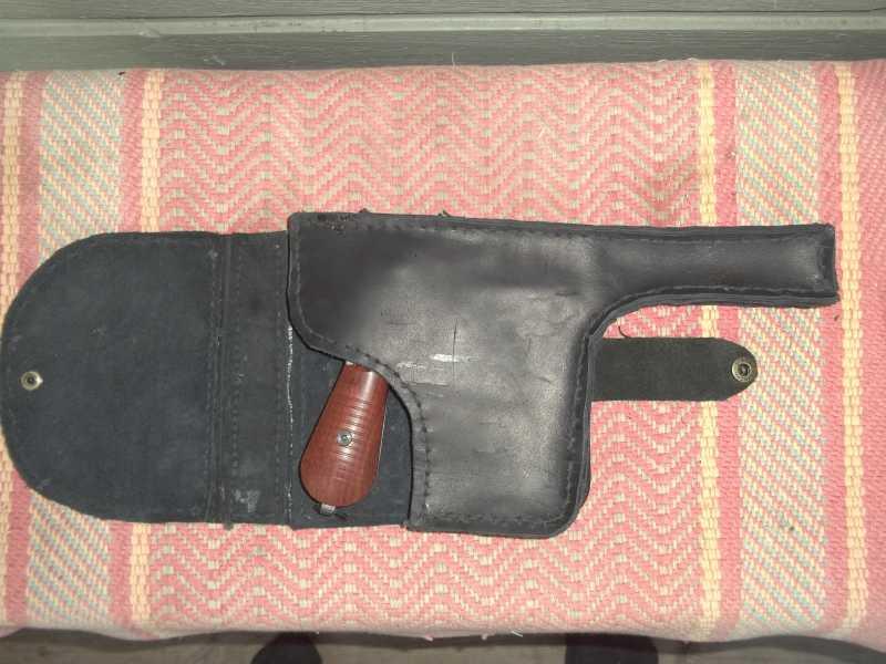 7)Самостоятельное изготовление кобуры из кожи.