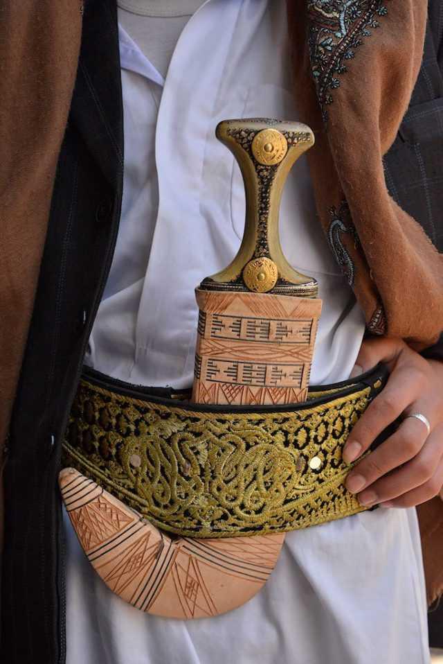 12)Джамбия-традиционный Йеменский нож