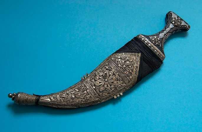 14)Джамбия-традиционный Йеменский нож