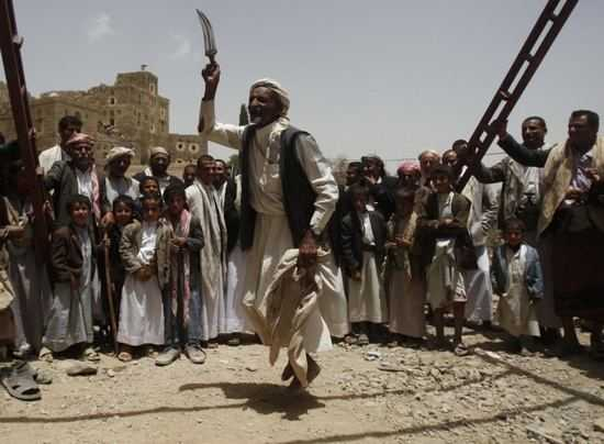 19)Джамбия-традиционный Йеменский нож