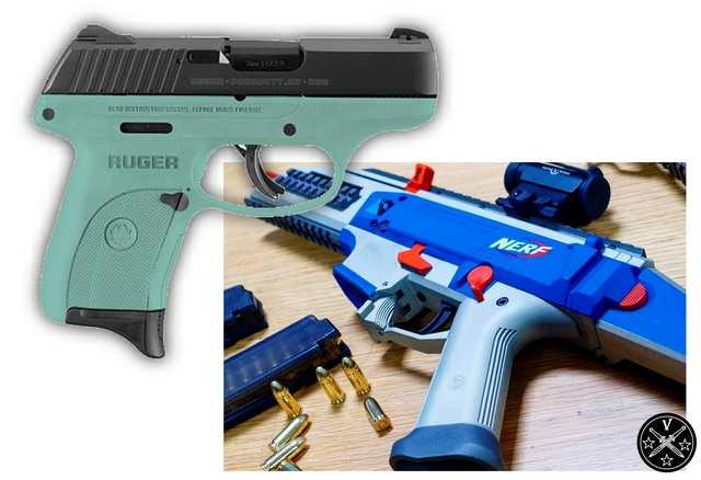 1)Раскрашенное оружие