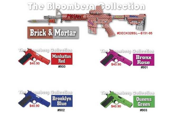 3)Раскрашенное оружие